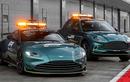 Siêu xe Aston Martin Vantage phiên an toàn trên đường đua F1