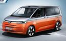 Volkswagen Multivan - xe van hybrid có cả hệ thống lái tự động