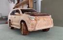 """Lexus GX 460 2021 bằng gỗ của thợ Việt khiến thế giới """"ngả mũ"""""""