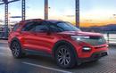 Ford Explorer 2021 chưa bán tại Việt Nam, bản facelift đã lộ diện