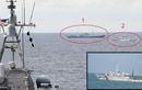Tàu chiến Mỹ, kiểm ngư Việt Nam, tàu Trung Quốc cùng xuất hiện trên Biển Đông