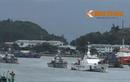 Xem tàu hải quân, kiểm ngư, cảnh sát biển Việt Nam đối phó Bão số 5