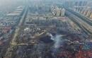 Sức tàn phá của vụ nổ Thiên Tân nhìn từ trên cao