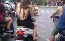 Con gái mặc hở hang ra đường, CSGT có được xử phạt?