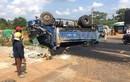 Tài xế lùi xe tải gây tai nạn: 1 người chết 3 người bị thương