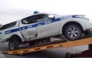 Hải Dương: Xe CSGT va chạm với xe máy, một nữ sinh tử vong