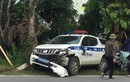 Video: Xe CSGT Hải Dương va chạm với xe đạp điện, 1 nữ sinh tử vong