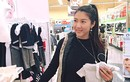 Siêu mẫu Ngọc Quyên rạng rỡ đi mua sắm đồ sơ sinh
