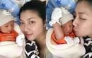 Siêu mẫu Ngọc Quyên khoe con trai gần 2 tuần tuổi