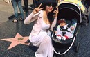 Ngọc Quyên cùng con trai thăm Đại lộ danh vọng Hollywood