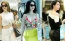 Gu thời trang sân bay hút mắt của người mẫu Ngọc Trinh