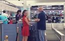 Thu Minh tiễn chồng đi công tác nước ngoài giữa lùm xùm