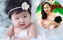 Vẻ đáng yêu như thiên thần của con gái Vân Trang
