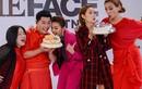 Nam Trung - Minh Hằng đón sinh nhật trên trường quay The Face 2018
