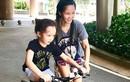 Hot Face sao Việt 24h: Hồng Nhung dạy con trai tập đi xe đạp