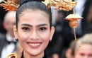 Dự Cannes 2019, Trương Thị May mặc kín đáo, khác hẳn Ngọc Trinh