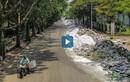 Video: Đường phố Hà Nội ngập ngụa trong rác thải