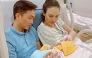 """Đàm Thu Trang lộ diện sau khi sinh, Cường Đô la """"nịnh"""" vợ"""