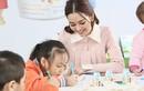 Á hậu Tường San cùng khám phá các trò chơi sáng tạo với trẻ