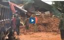 Video: Khu vực 22 cán bộ, chiến sĩ Sư đoàn 337 bị vùi lấp ở Hướng Hoá
