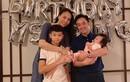 Đàm Thu Trang tặng cho con gái 4 tháng tuổi túi hàng hiệu khắc tên riêng