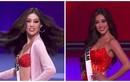 Khánh Vân gợi cảm với bikini ở bán kết Miss Universe 2020