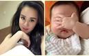 Vy Oanh khoe con mới sinh cực đáng yêu