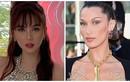 Ngọc Trinh dùng vòng cổ thay nội y gợi cảm giống Bella Hadid