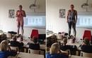 """Cô giáo """"cởi đồ"""" để dạy học sinh về cơ thể người"""