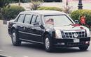 14 mẫu xe nổi bật hộ tống Tổng thống Obama ở Sài Gòn