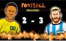 Video hoạt hình vui: Neymar so tài cùng Lionel Messi