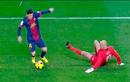 Những pha xử lý bóng kỹ thuật ghi bàn của Messi và Ronaldo