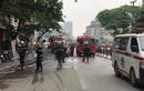 Danh tính 4 người chết trong vụ cháy cửa hàng ở phố Tôn Đức Thắng