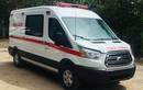 Ông Đoàn Ngọc Hải khoe chiếc xe cứu thương giá 2,5 tỷ được tặng