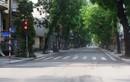 Ngày đầu giãn cách xã hội theo Chỉ thị 16, đường phố Hà Nội thế nào?