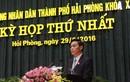 Ông Nguyễn Văn Tùng được bầu giữ chức Chủ tịch UBND Hải Phòng