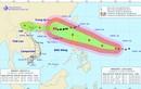 Bão số 5 suy yếu, siêu bão Mangkhut giật cấp 17 hướng vào Bắc Biển Đông
