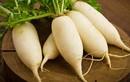 Sử dụng củ cải làm da trắng hồng, hết đốm nâu