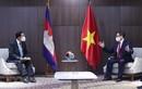 Thủ tướng Phạm Minh Chính hội kiến Thủ tướng Campuchia Hun Sen