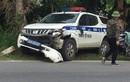 Hiện trường vụ tai nạn xe CSGT va chạm nữ sinh ở Hải Dương