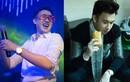 Dương Triệu Vũ ăn bánh mỳ tất bật chạy show
