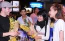 Chi Pu, Angela Phương Trinh ra tận sân bay đón trai đẹp