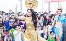Phạm Hương lộng lẫy tại Carnaval đường phố Quảng Bình