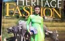 Áo dài Việt in họa tiết chùa Myanmar gây bức xúc