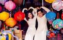 Vợ chồng diễn viên Vân Trang say men tình ở Hội An