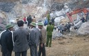 Hiện trường vụ sập mỏ đá 8 người gặp nạn