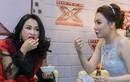 Thanh Lam, Hồ Quỳnh Hương ăn vội trước giờ ghi hình
