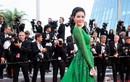 Lý Nhã Kỳ diện váy xanh quyến rũ tại Cannes