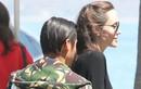 Angelina Jolie và cậu con trai nuôi Pax Thiên vui vẻ đi ăn trưa