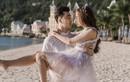 Ưng Hoàng Phúc bán nude trong ảnh cưới với Kim Cương